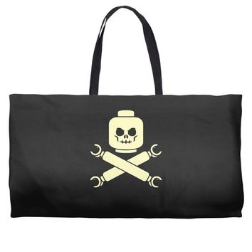plastic block pirates Weekender Totes
