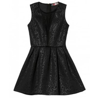 Neoprene Lace Dress