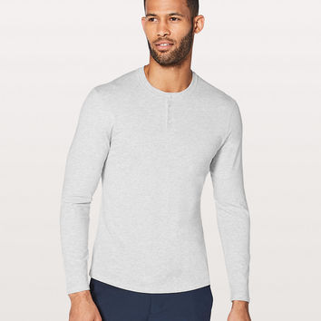 5 Year Basic Long Sleeve Henley | Men's Long Sleeve Tops | lululemon athletica