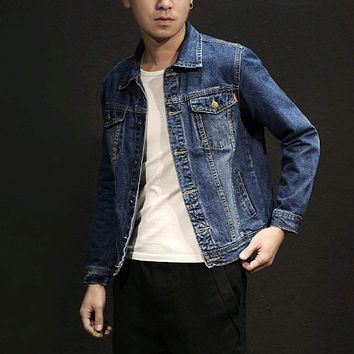 Mens Trucker Denim Jacket