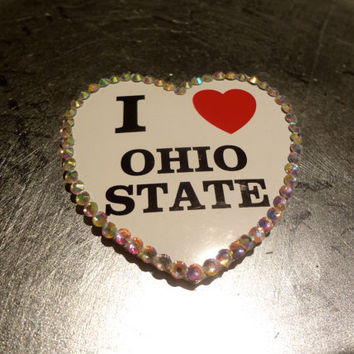 Blinggg Ohio State University Pin by BLINGGG on Etsy