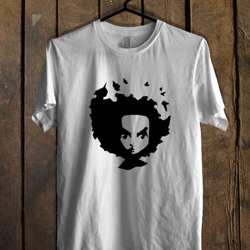 The Boondocks Huey Face T Shirt Mens T Shirt and Womens T Shirt *