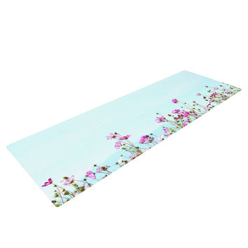 "Robin Dickinson ""I Choose Magic"" Flowers Yoga Mat"
