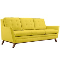 Beguile Upholstered Fabric Sofa, Sunny