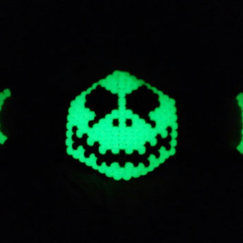 Jack Skellington Kandi Mask