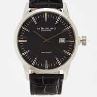 Classic Ascot II Leather Watch With Interchangeable Band