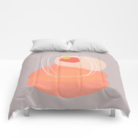 Modern minimal forms 52 Comforters by naturalcolors