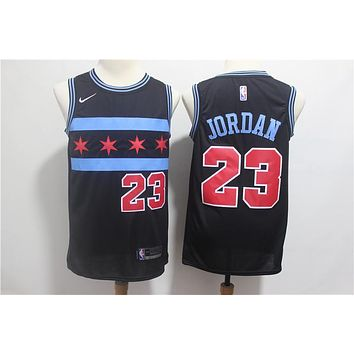 Chicago Bulls #23 Jordan City Edition Swingman Jersey