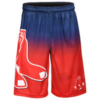 Boston Red Sox Official MLB Gradient Big Logo Training Short - Mens