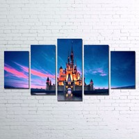 Walt Disney World Magic Kingdom Canvas