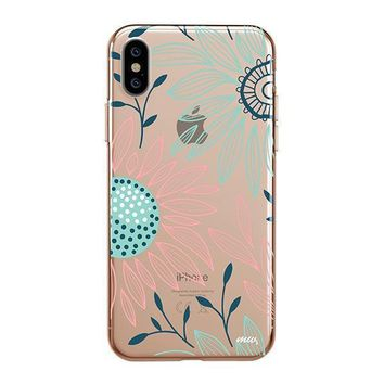 Floral Patch - iPhone Clear Case