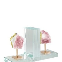 JAY IMPORTS | Agate Bookends - Light Pink/Gold | Nordstrom Rack