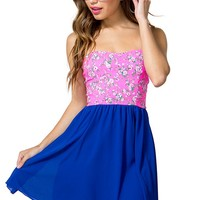 Ditsy Pop Day Dress