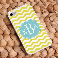 Personalized Chevron iphone covers - Breezy Sunshine 5