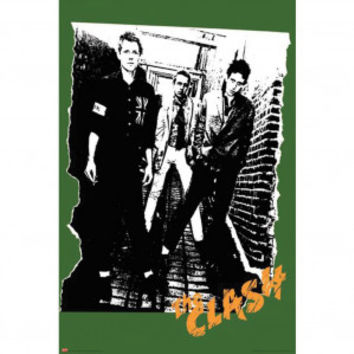 Clash Alley Subway Poster - Clash - C - Artists/Groups - Rockabilia