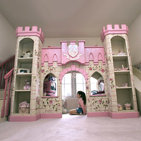 Princess Castle Playhouse Loft Bed