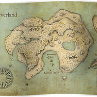 Peter Pan Neverland Map