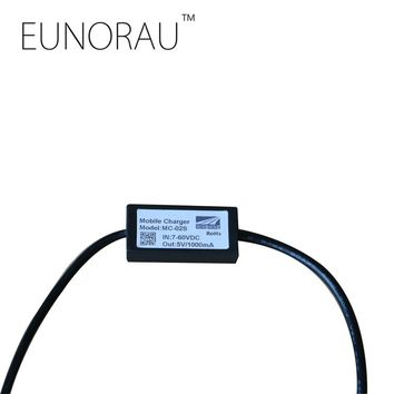 Free shipping EUNORAU DC 7-60v to 5V1000mA USB mobile phone charger