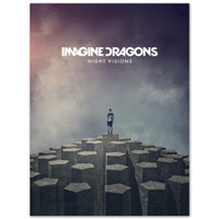 IMAGINE DRAGONS - NIGHT VISIONS 14x22 POSTER P49
