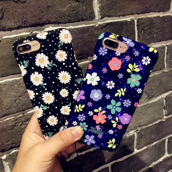 Hard PC Full Coverage Cover For iPhone 6 Case 360 Degree Full Body Coque For iPhone 6 6s Plus 7 8Plus Protective Cases