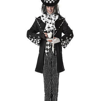 Adult Dark Mad Hatter Costume - Alice in Wonderland - Spirithalloween.com