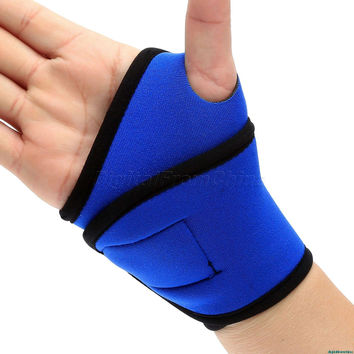 1Pc Adjustable Sport Hand Wraps Wrist Protective Gear Training Wristband Bracers Safety SweatBand Strap Support Wrister Bandage