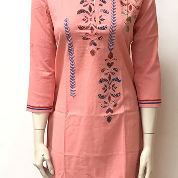 Hand Painted Kurta.