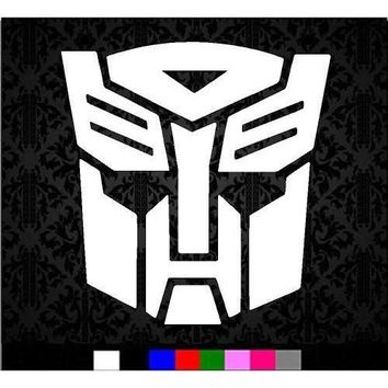 Transformers Autobot Logo Vinyl Decal Sticker For Car Laptop Windows Wall