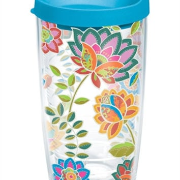 Boho Floral Chic Tumblers and Water Bottles by Tervis