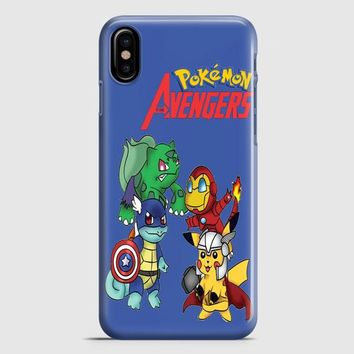 Pokemon Anime Cartoon All 8 Gym Badges 2 iPhone X Case | casescraft