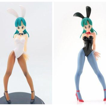 Bulma Bunny Girl Dragon Ball Two Colour Japanese Anime Figures Action Toy Figures Pvc Model Collection Collectible Figurines