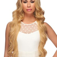 """LACE FRONT WIG, EXTRA LONG WAVY CURL 34"""" (LL002)"""