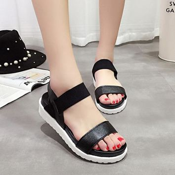 Women sandals women shoes summer roman ladies flip flops footwear sandals shoes