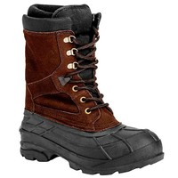 Men's Tall Waterproof Lace-Up Insulated Snow Boots