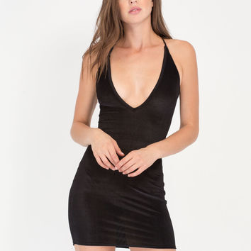 Unexpected Hit Laced Corduroy Minidress