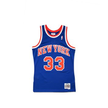 Mitchell & Ness Men's Patrick Ewing Replica Jersey - Blue