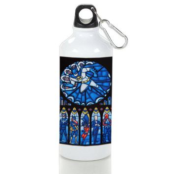 Gift Sport Bottles | Batman Stained Glass Superhero Aluminum Sport Bottles
