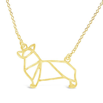 Corgi Dog Necklace