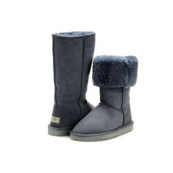 Uggs Boots Black Friday Classic Tall 5815 Grey For Women 80 22