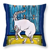 My Brother From Another Mother Throw Pillow for Sale by Dora Hathazi Mendes