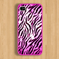 The Luxury Pink Zebra Design and Pink Case : Iphone 4/4s case Iphone 5 case and Galaxy S3