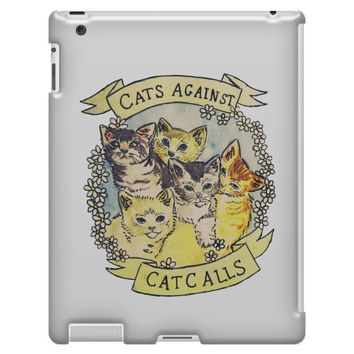cats against cat calls iPad 3 and 4 Case