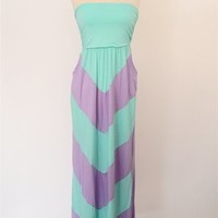 Kissed By The Sun Maxi Dress - Lilac at Bluetique Cheap Chic