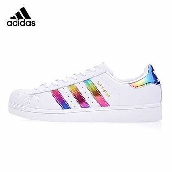 Original New Arrival Official Adidas SUPERSTAR Shamrock Women's And Men's Skateboarding Shoes Sport Outdoor Sneakers BB2146