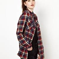 Pop Boutique Checked Flannel Shirt