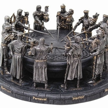 Knights of the Round Table Sculpture - 6903