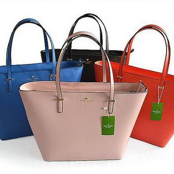 VONE05E Kate Spade' Women Simple Fashion Water Bucket Bag High Capacity Single Shoulder Bag Handbag