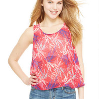 Split Back Palm Tree Tank