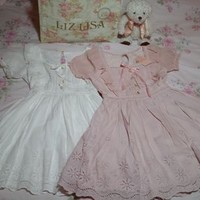 Liz Lisa Cotton Puffed Sleeve One-Piece / Dress (NwT) from Kawaii Gyaru Shop
