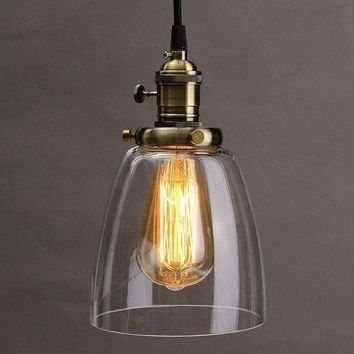2M Lamp Cover E27 Retro Vintage Industrial Coffee House Glass Cover Ceiling Pendant Lamp Chandelier Light Lamp Shade Fixture